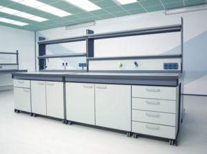Arredi tecnici per laboratorio Gemina 2 - ForLab Italia