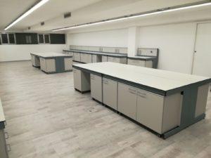 Arredi tecnici per laboratori Studio 4 - ForLab Italia