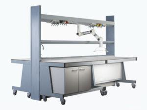 Arredi tecnici per laboratori Xenia - ForLab Italia