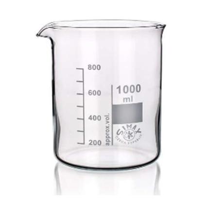 Bicchieri forma bassa, con becco, vetro Simax (norma rif. ISO 3819 - DIN 12 331)_For Lab Italia