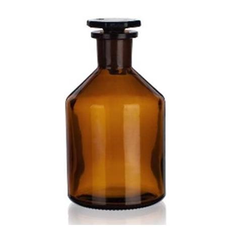 Bottiglie per reagenti, tappo smeriglio, bocca stretta, vetro giallo - Cat. 2002-H III classe IDROLITICA_For Lab Italia