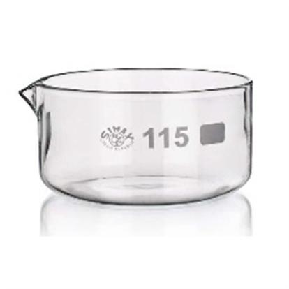Cristallizzatori con becco, vetro Simax (norma rif. DIN 12 337)_For Lab Italia