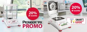 promo Pioneer PX e Analizzatore di umidità MB120 Ohaus
